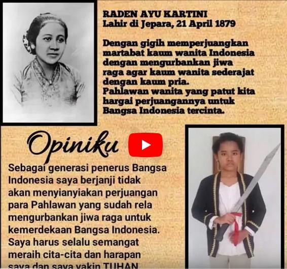 Hari Kartini & puisi sekolah St. Markus